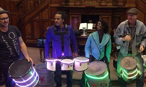 LED drums