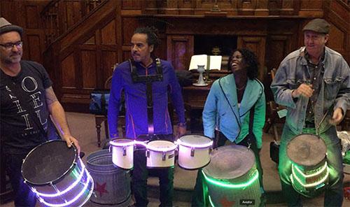 LED drums