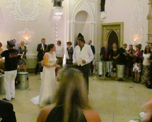 wedding drumming band