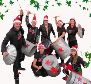 clatteratti santa drummers
