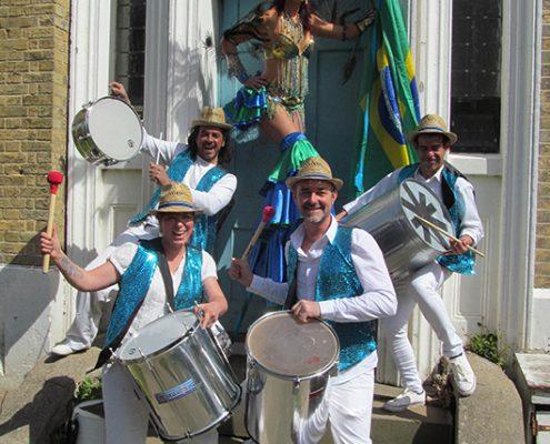 olympic drums n stilts
